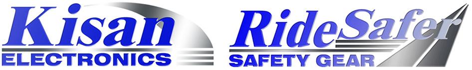 Kisan & RideSafer locations logo