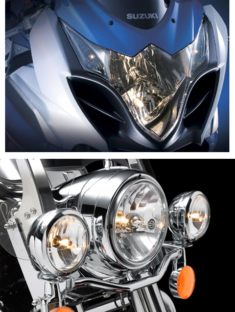 single-headlight